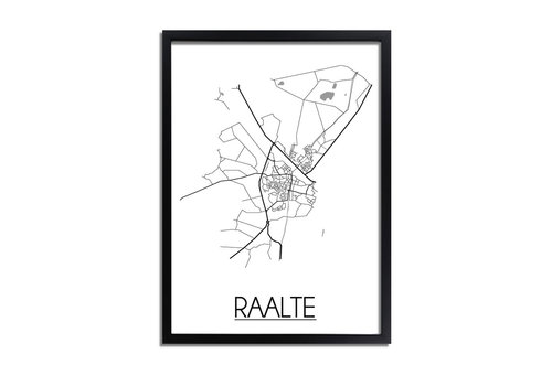 DesignClaud Raalte Plattegrond poster