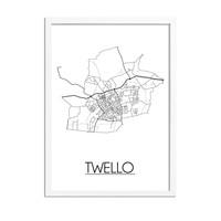 Twello Plattegrond poster
