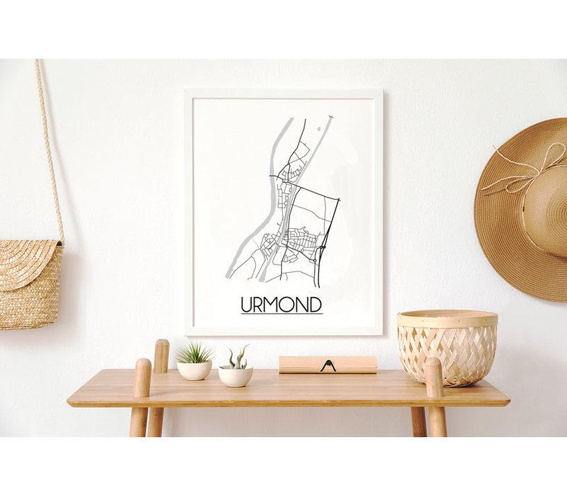 Urmond Plattegrond poster
