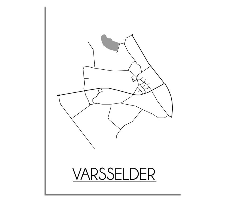 Varsselder Plattegrond poster