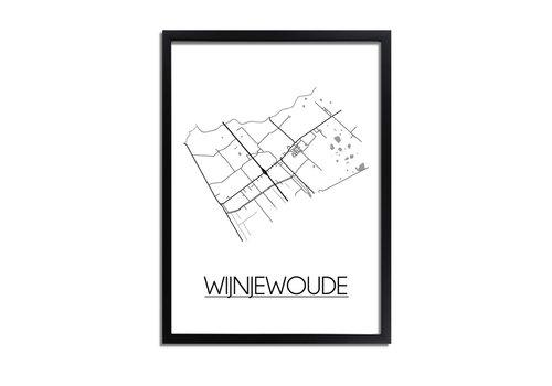 DesignClaud Wijnjewoude Plattegrond poster