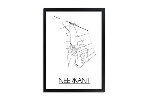 DesignClaud Neerkant Plattegrond poster