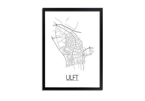 DesignClaud Ulft Plattegrond poster