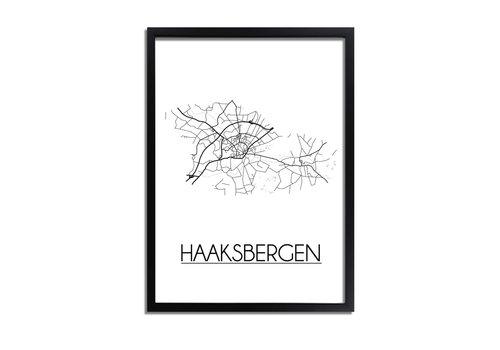 DesignClaud Haaksbergen Plattegrond poster