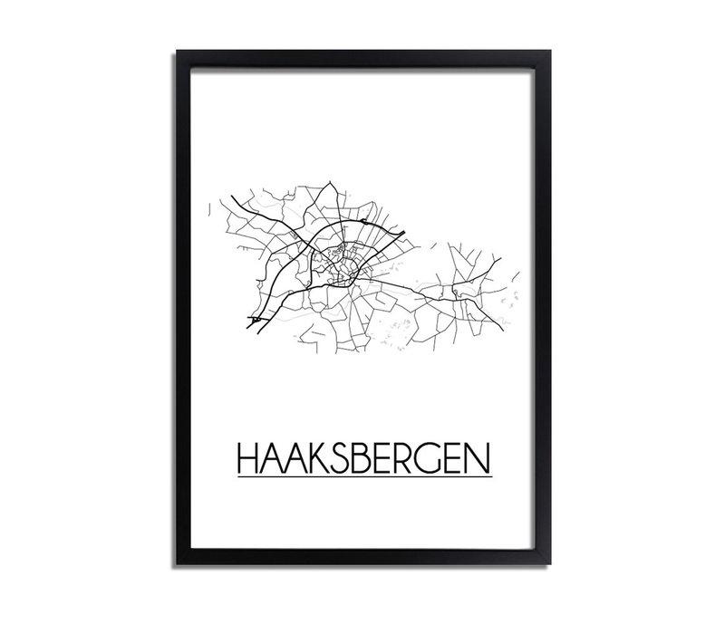 Haaksbergen Plattegrond poster