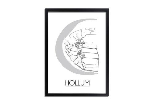 DesignClaud Hollum Plattegrond poster