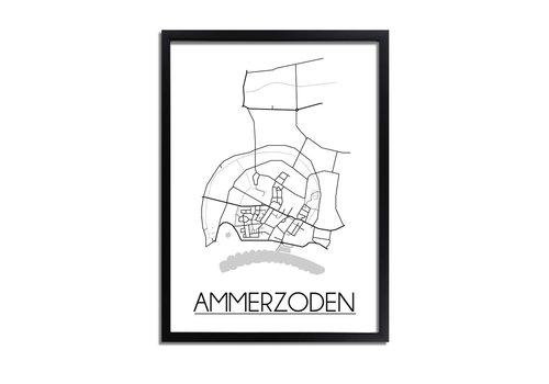 DesignClaud Ammerzoden Plattegrond poster