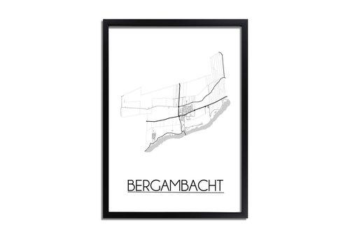 DesignClaud Bergambacht Plattegrond poster