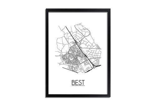 DesignClaud Best Plattegrond poster