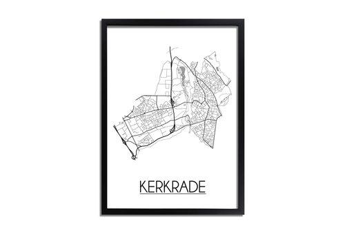 DesignClaud Kerkrade Plattegrond poster