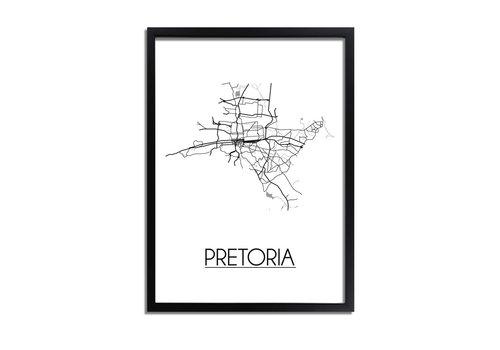 DesignClaud Pretoria Plattegrond poster
