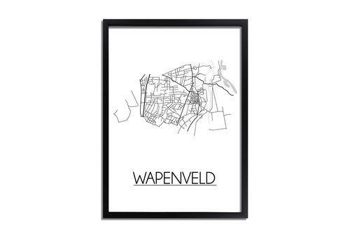 DesignClaud Wapenveld Plattegrond poster