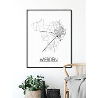 Wierden Plattegrond poster