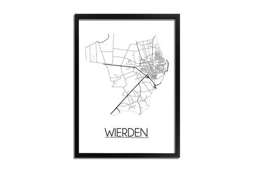 DesignClaud Wierden Plattegrond poster