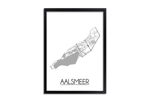 DesignClaud Aalsmeer Plattegrond poster