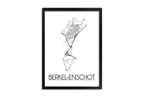 DesignClaud Berkel-Enschot Plattegrond poster