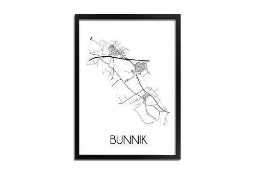 DesignClaud Bunnik Plattegrond poster