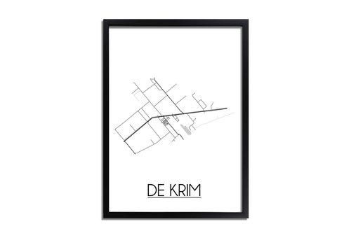 DesignClaud De Krim Plattegrond poster