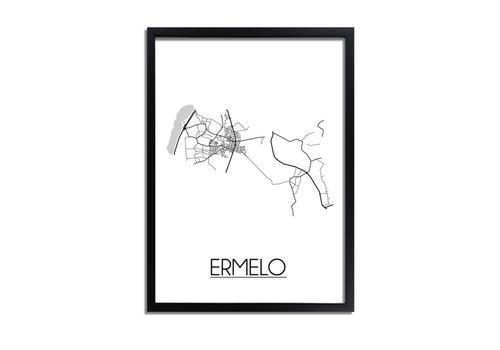 DesignClaud Ermelo Plattegrond poster