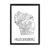 Hilligersberg Plattegrond poster