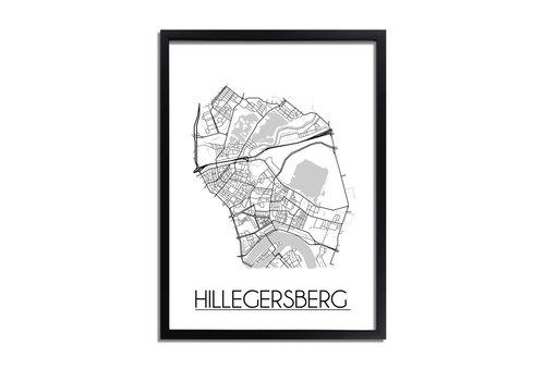 DesignClaud Hilligersberg Plattegrond poster
