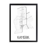 Kamerik Plattegrond poster