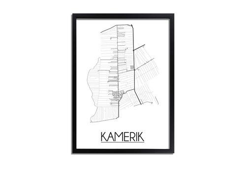 DesignClaud Kamerik Plattegrond poster
