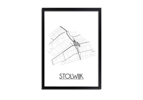 DesignClaud Stolwijk Plattegrond poster