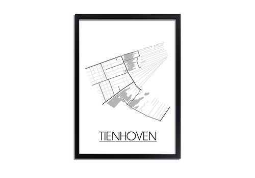 DesignClaud Tienhoven Plattegrond poster