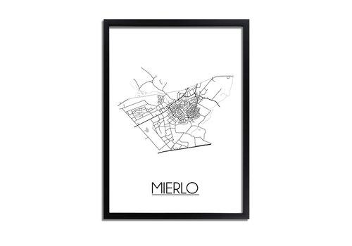 DesignClaud Mierlo Plattegrond poster