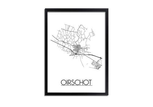 DesignClaud Oirschot Plattegrond poster