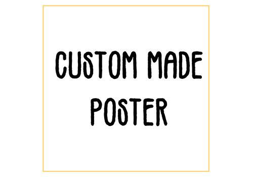 DesignClaud Custom made poster