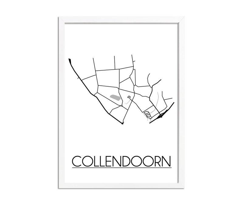 Collendoorn Plattegrond poster