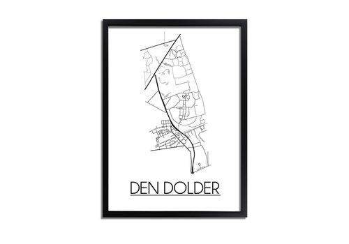 DesignClaud Den Dolder Plattegrond poster