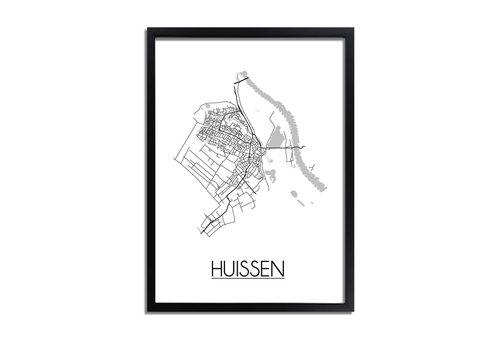 DesignClaud Huissen Plattegrond poster