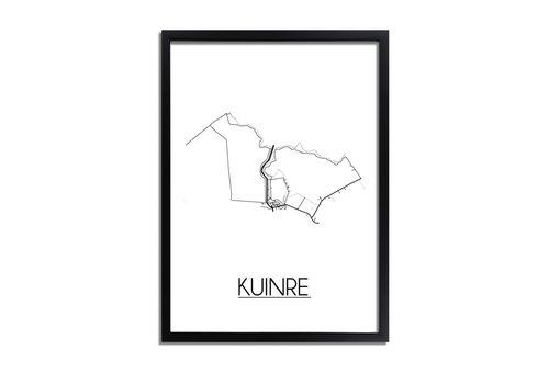 DesignClaud Kuinre Plattegrond poster