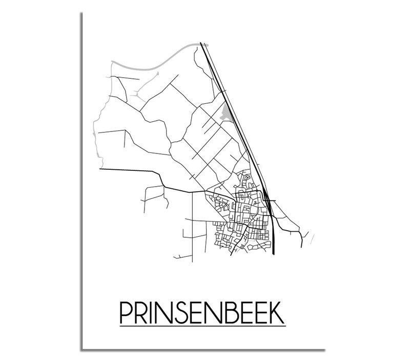 Prinsenbeek Plattegrond poster