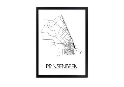 DesignClaud Prinsenbeek Plattegrond poster