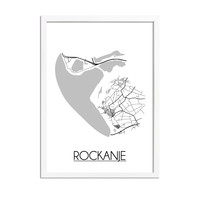 Rockanje Plattegrond poster