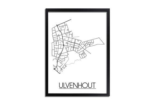 DesignClaud Ulvenhout Plattegrond poster