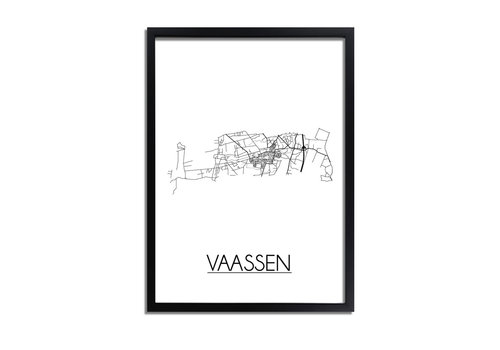 DesignClaud Vaassen Plattegrond poster