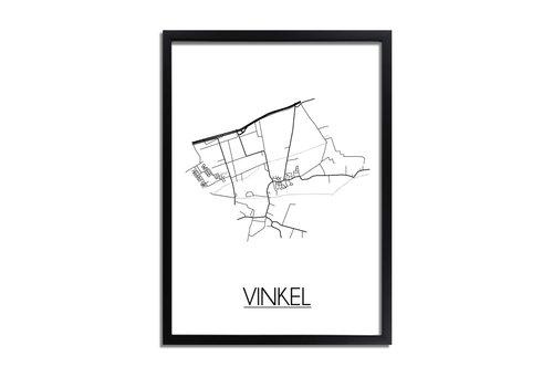 DesignClaud Vinkel Plattegrond poster