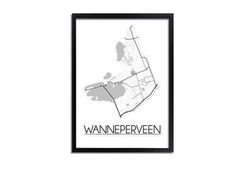 DesignClaud Wanneperveen Plattegrond poster