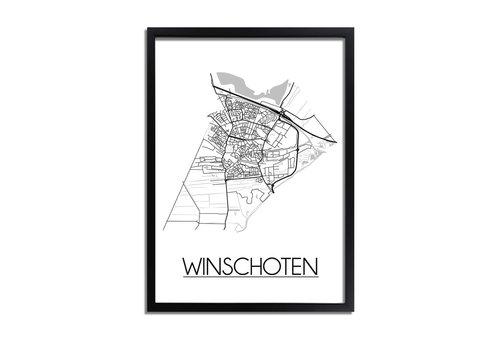 DesignClaud Winschoten Plattegrond poster
