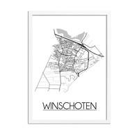 Winschoten Plattegrond poster