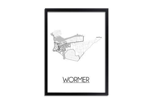 DesignClaud Wormer Plattegrond poster