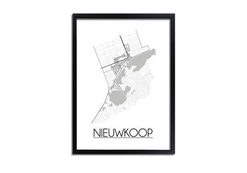 DesignClaud Nieuwkoop Plattegrond poster