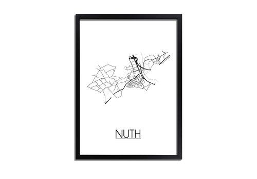 DesignClaud Nuth Plattegrond poster