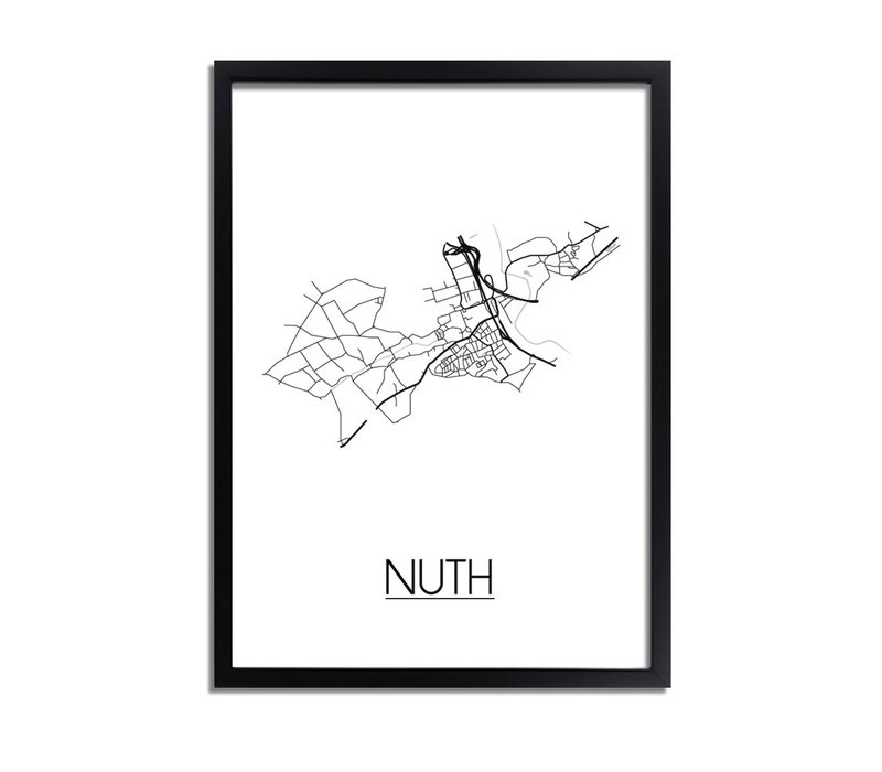 Nuth Plattegrond poster
