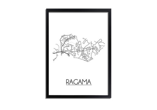 DesignClaud Ragama Plattegrond poster